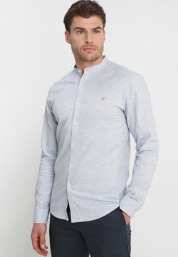 Farah - STEEN GRANDAD - Camicia - steel blue