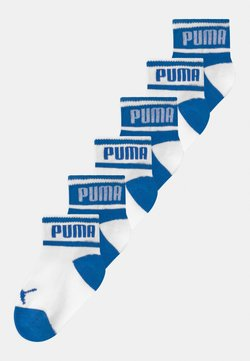Puma - PUMA BABY WORDING 6 PACK - Calcetines - white/blue
