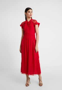 Three Floor - CENTIFOLIA DRESS - Vestido de cóctel - scarlet red