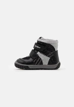 Kickers - SITROUILLE WPF - Snowboot/Winterstiefel - noir/argent