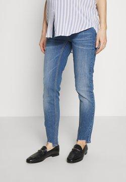MAMALICIOUS - MLAZUL  - Slim fit jeans - medium blue denim