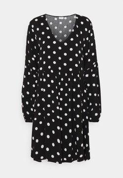JDY - JDYKATE LIFE DRESS - Day dress - black/white