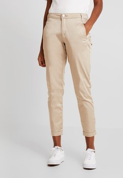 Vila - VICHINO RWRE 7/8 NEW PANT-NOOS - Chinos - soft camel