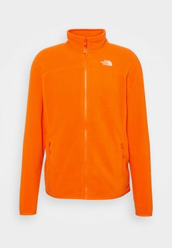 The North Face - GLACIER FULL ZIP NEW - Fleecejacke - flame