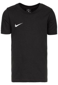 Nike Performance - CLUB19 TM  - T-shirt basic - black/white