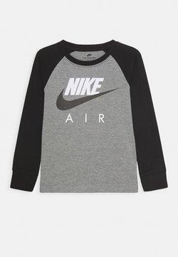 Nike Sportswear - AIR RAGLAN - Bluzka z długim rękawem - carbon heather/black