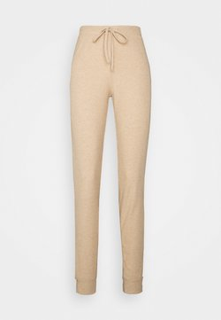 ONLY Tall - ONLZOE LONG PANTS - Jogginghose - beige