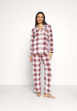 Lauren Ralph Lauren - LONG PJ SET - Pyjama - ivory