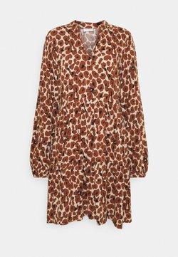 Vila - VILANA DRESS - Korte jurk - dark brown