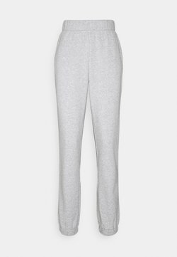 PIECES Tall - PCLEDA ANKLE PANTS - Jogginghose - light grey melange