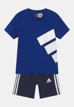 adidas Performance - BRAND SET UNISEX - Träningsshorts - royal blue/dark blue