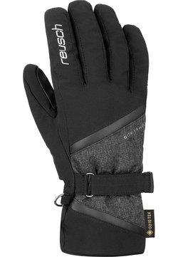 Reusch - ALEXA GTX - Fingerhandschuh - blck/blck melange/silver