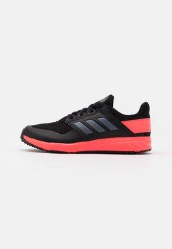 adidas Performance - FORTAFAITO UNISEX - Chaussures de running neutres - core black/grey four/signal pink