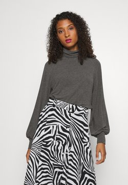 ONLY - ONLGLAMOUR - Stickad tröja - dark grey melange
