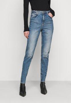 PIECES Tall - PCLEAH MOM NOOS TAL - Jean slim - medium blue denim