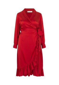 INAN ISIK - Cocktailkleid/festliches Kleid - rot