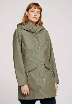 TOM TAILOR - Parka - covert khaki