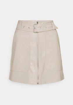 JDY - JDYALASKA SKIRT - Mini skirt - chateau gray