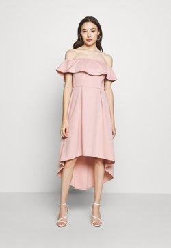 Chi Chi London Petite - WANDA DRESS - Juhlamekko - mink