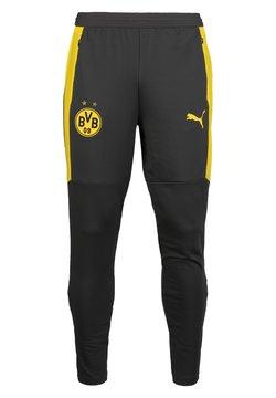 Puma - Pantalones deportivos - asphalt/cyber yellow