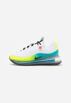 Nike Sportswear - MX-720-818 BG - Sneaker low - white/black/blue fury/volt