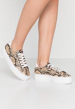 No Name - PLATO - Sneakers laag - natural