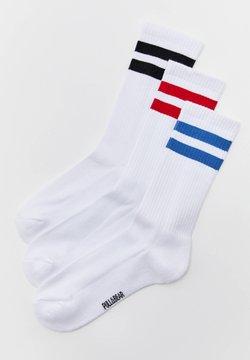 PULL&BEAR - 3 PACK - Socken - white