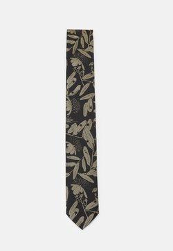 HUGO - TIE - Cravate - gold-coloured