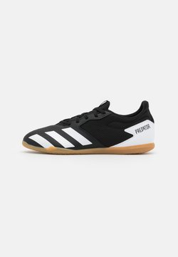 adidas Performance - PREDATOR 20.4 FOOTBALL SHOES INDOOR - Fußballschuh Halle - core black/footwear white