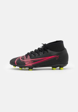 Nike Performance - MERCURIAL 8 CLUB MG - Moulded stud football boots - black/cyber