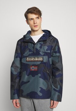 Napapijri - RAINFOREST SUMMER PRINT  - Windbreaker - black