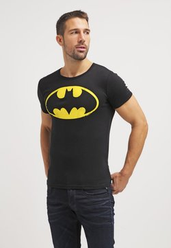 LOGOSHIRT - BATMAN - T-Shirt print - black