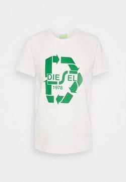Diesel - T-SILY-V32 T-SHIRT - T-Shirt print - offwhite