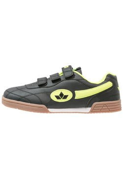 LICO - BERNIE - Sneakers laag - schwarz/lemon