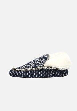 OYSHO - Pantofole - dark blue