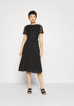 Dorothy Perkins - ALICE PLEAT MIDI - Cocktailkleid/festliches Kleid - black
