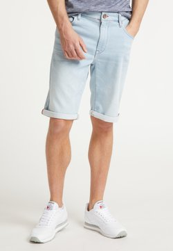 Petrol Industries - SHORTS - Jeans Shorts - bleached