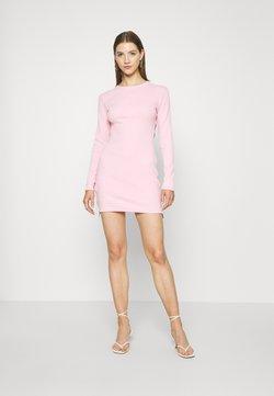 Missguided - SIDE ZIP MINI DRESS - Etui-jurk - pink
