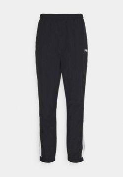 Fila - AERO PANTS - Tracksuit bottoms - black/bright white