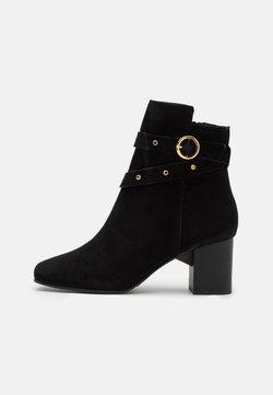 Selected Femme - SLFZOEY STUD BOOT  - Stiefelette - black