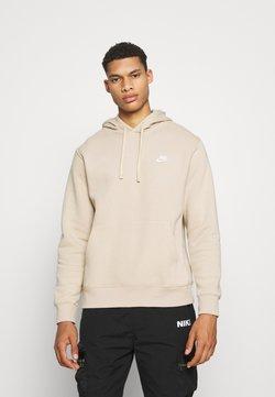 Nike Sportswear - CLUB HOODIE - Sweatshirt - grain