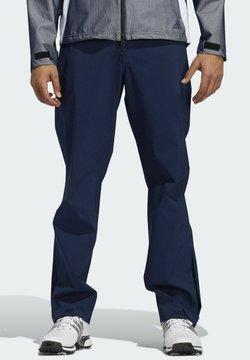adidas Performance - Tygbyxor - blue