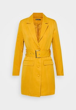 Missguided - BELTED BLAZER DRESS - Cocktailkleid/festliches Kleid - orange