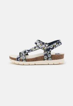 Panama Jack - SALLY GARDEN - Korkeakorkoiset sandaalit - navy