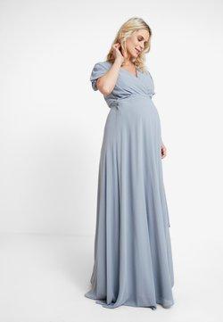 TFNC Maternity - EXCLUSIVE KATIA - Ballkleid - grey blue