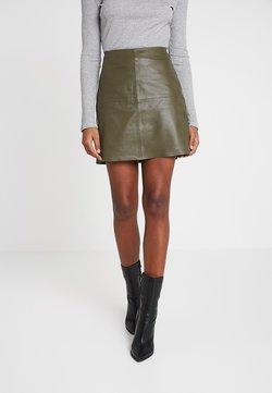 YAS - YASHANNAH LEATHER SKIRT - Leather skirt - beetle