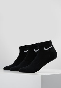 Nike Performance - EVERYDAY CUSH 3 PACK - Träningssockor - black/white