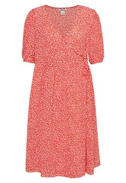 Monki - YOANA DRESS - Sukienka letnia - red