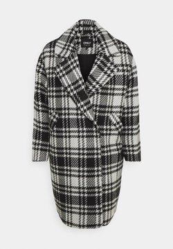 ONLY - ONLDAJANA CHECK COAT - Manteau classique - black/white