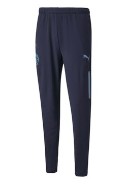 Puma - CITY PREMATCH FOOTBALL - Jogginghose - peacoat team light blue